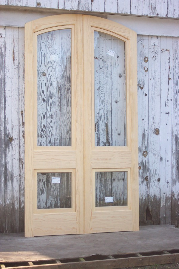 Double combination front storm doors for Door and screen door combo
