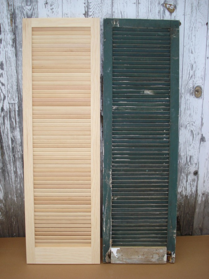 Exact Replication Of Fixed Slat Blinds