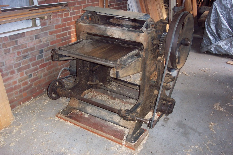 "Hall and Brown  24"" Surface Planer"