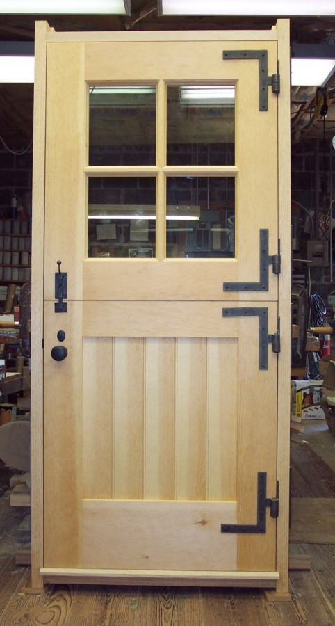 Knight-Sutherland Dutch Doors and Framed Ledge Interior Doors