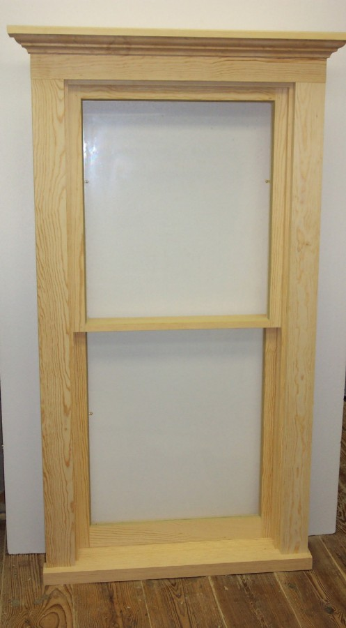 Lickteig Double-Hung Window with Sash Spring-Bolts