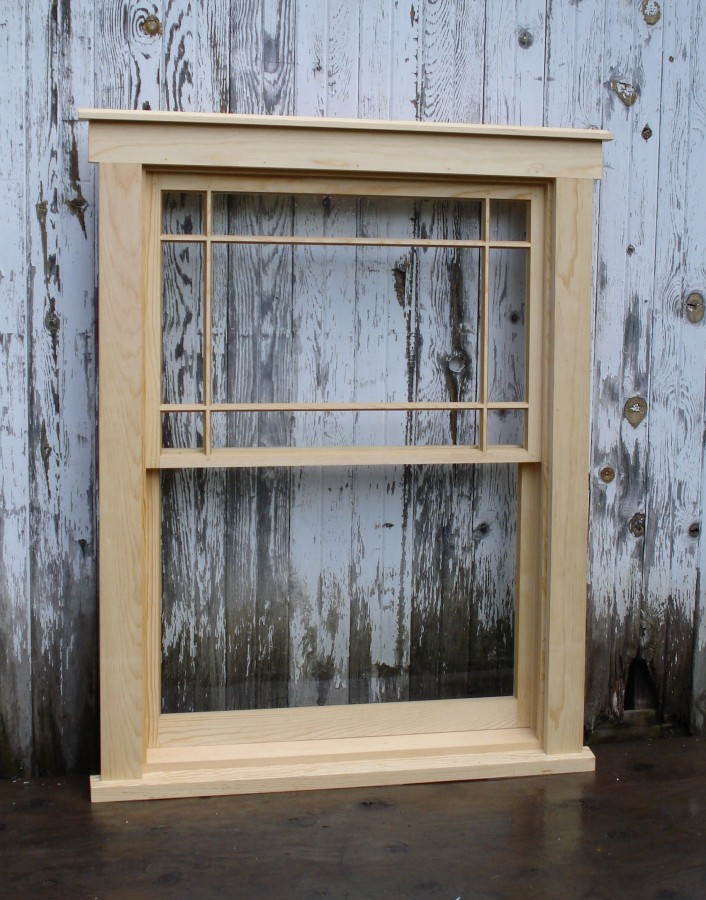 Custom Wood Window Sash For Historic Restoration